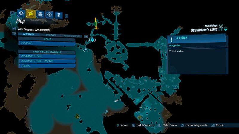 borderlands 3 - it's alive mission walkthrough