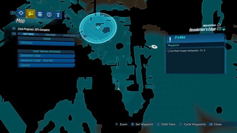 borderlands 3 - it's alive quest