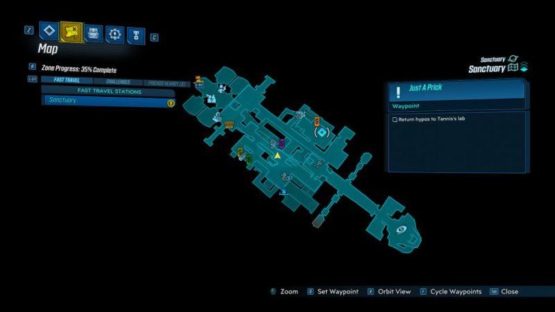 borderlands 3 - just a prick mission guide