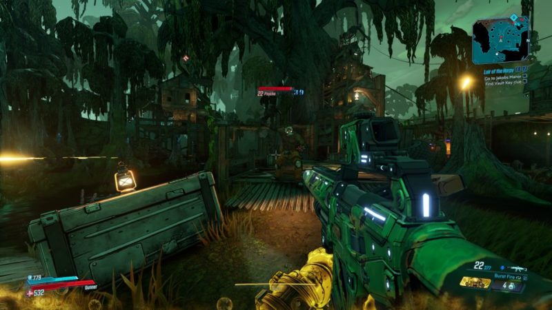 borderlands 3 - lair of the harpy mission guide