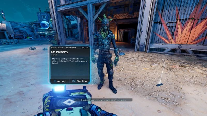 borderlands 3 - life of the party