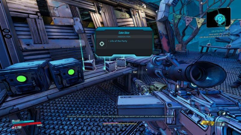 borderlands 3 - life of the party mission walkthrough