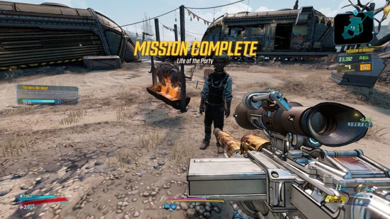 borderlands 3 - life of the party tips