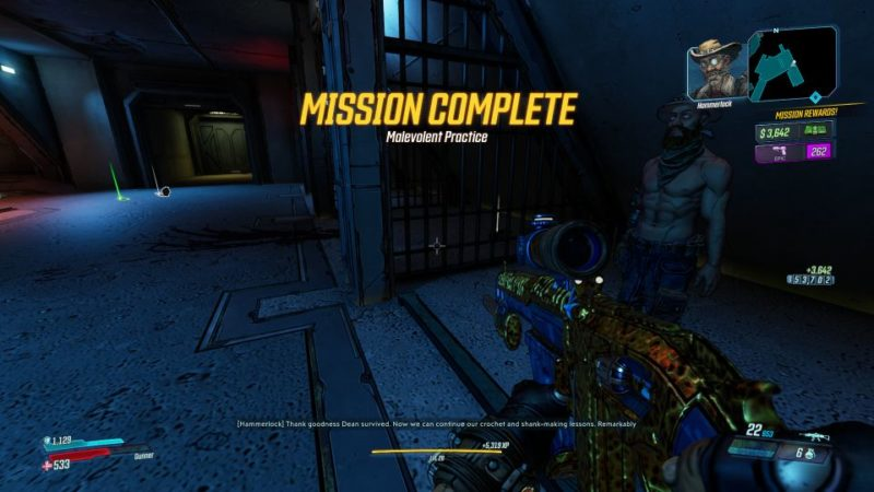 borderlands 3 - malevolent practice defeat anointed alpha