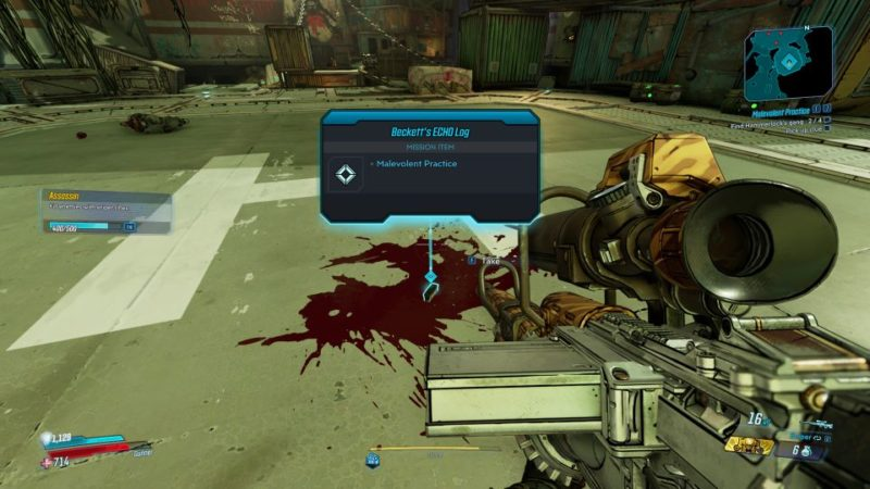 borderlands 3 - malevolent practice search for clues