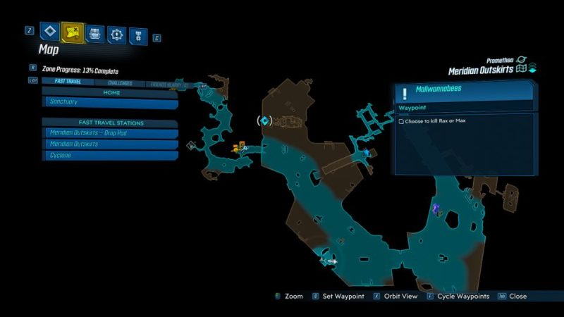 borderlands 3 - maliwannabees mission