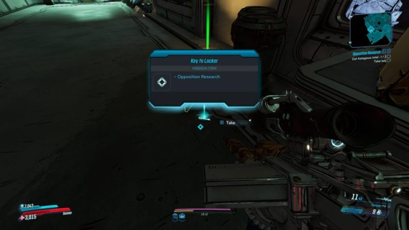 borderlands 3 - opposition research mission wiki