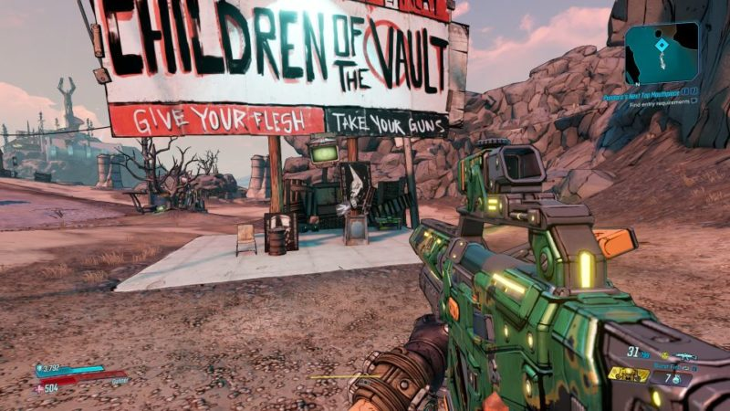 borderlands 3 - pandora's next top mouthpiece guide and tips
