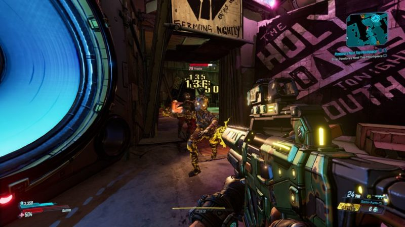 borderlands 3 - pandora's next top mouthpiece tips and guide
