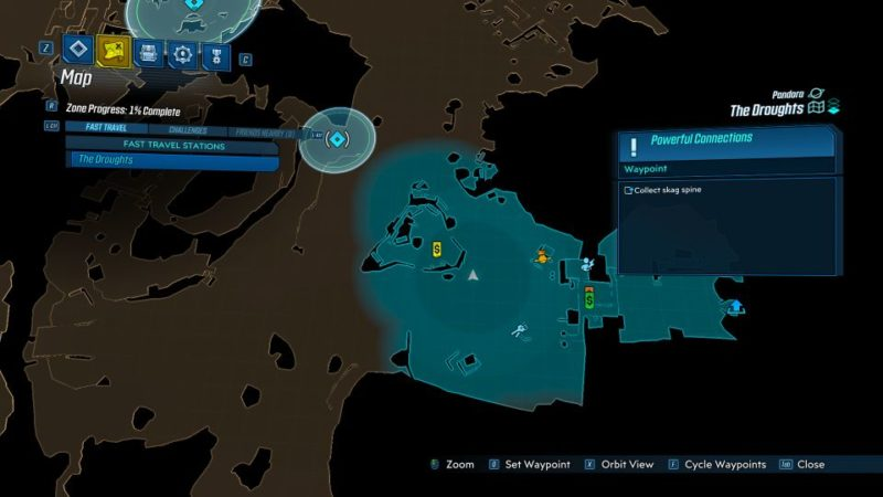borderlands 3 - powerful connections mission