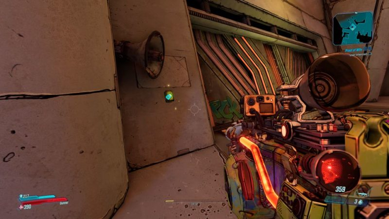 borderlands 3 - proof of wife walkthrough and guide