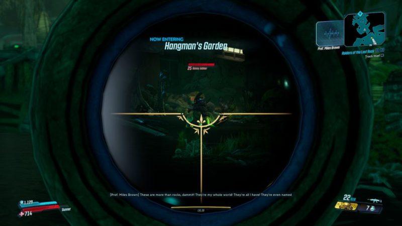 borderlands 3 - raiders of the lost rock quest walkthrough