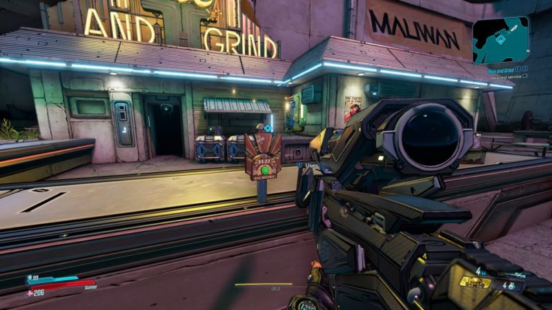 borderlands 3 - rise and grind quest