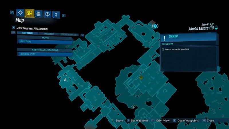 borderlands 3 - sacked mission guide