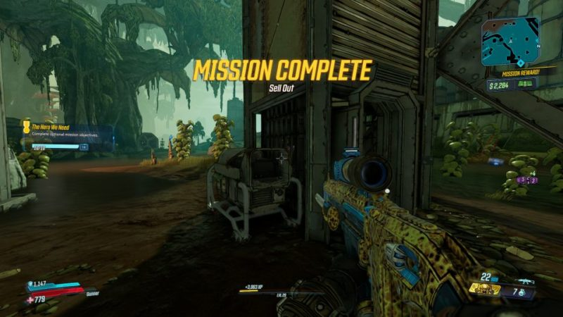 borderlands 3 - sell out death trap or destroy 5 camera