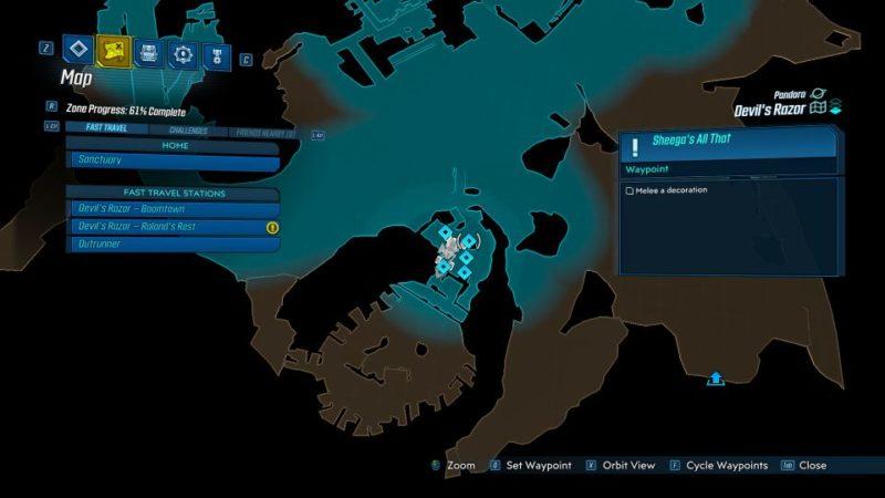 borderlands 3 - sheega's all that mission