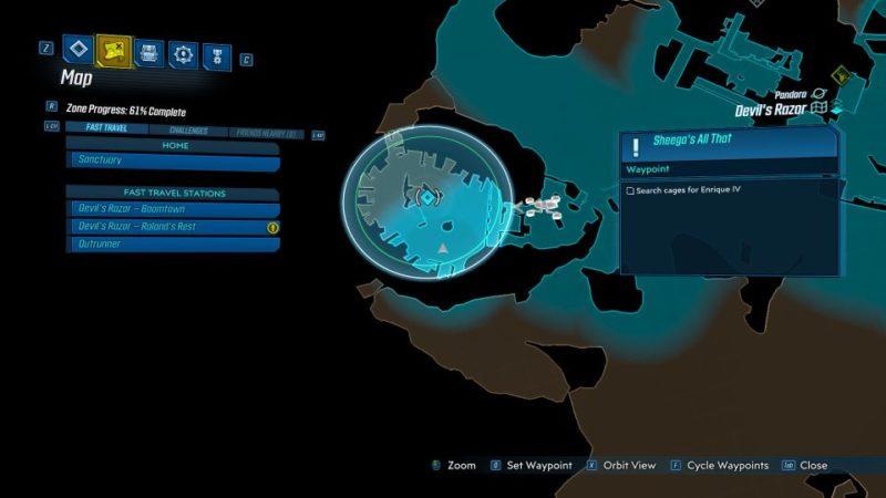 borderlands 3 - sheega's all that mission walkthrough