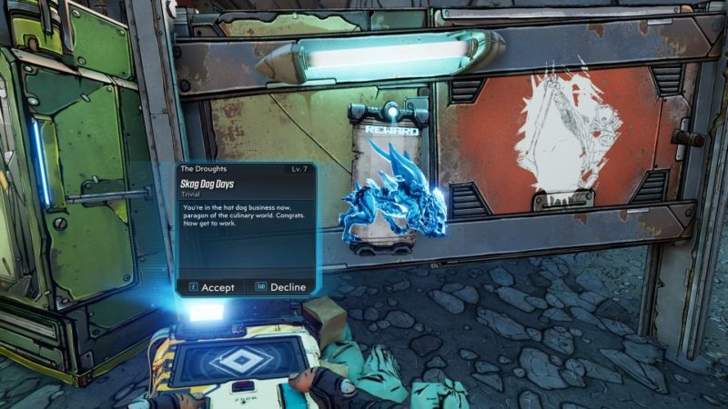 borderlands 3 - skag dog days