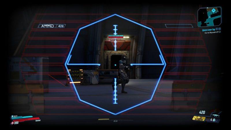 borderlands 3 - space-laser tag mission