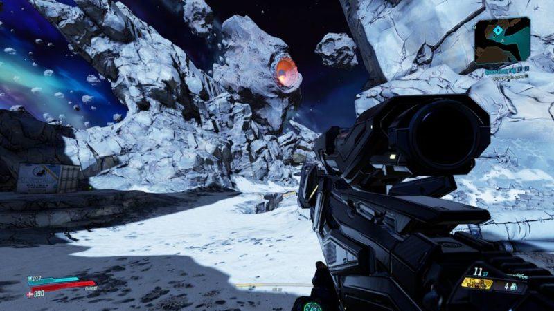 borderlands 3 - space-laser tag mission wiki