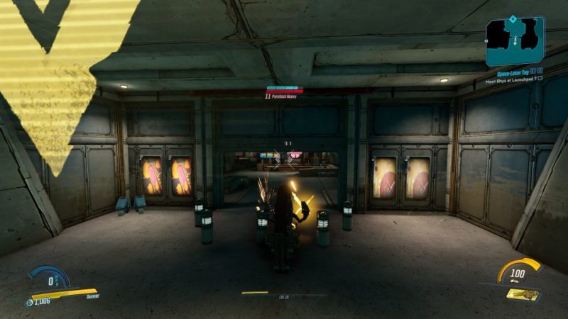borderlands 3 - space-laser tag quest