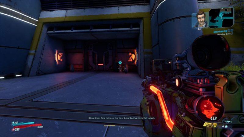 borderlands 3 - space-laser tag quest wiki