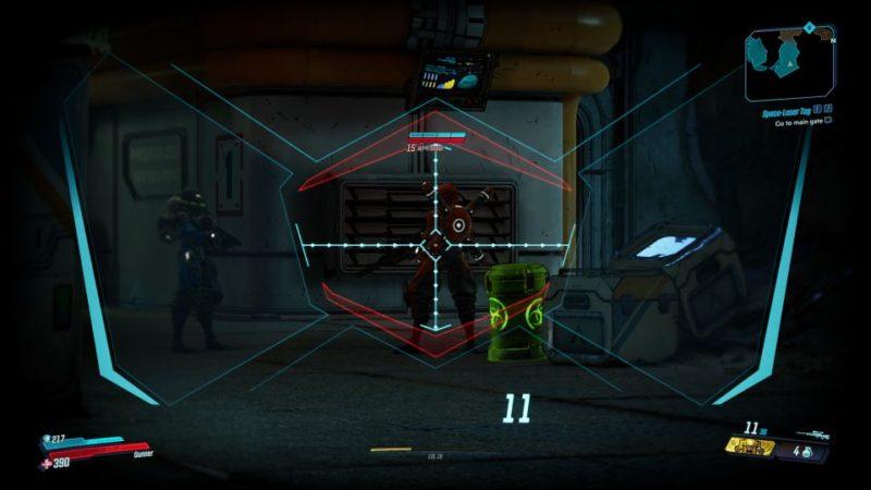 borderlands 3 - space-laser tag walkthrough and guide