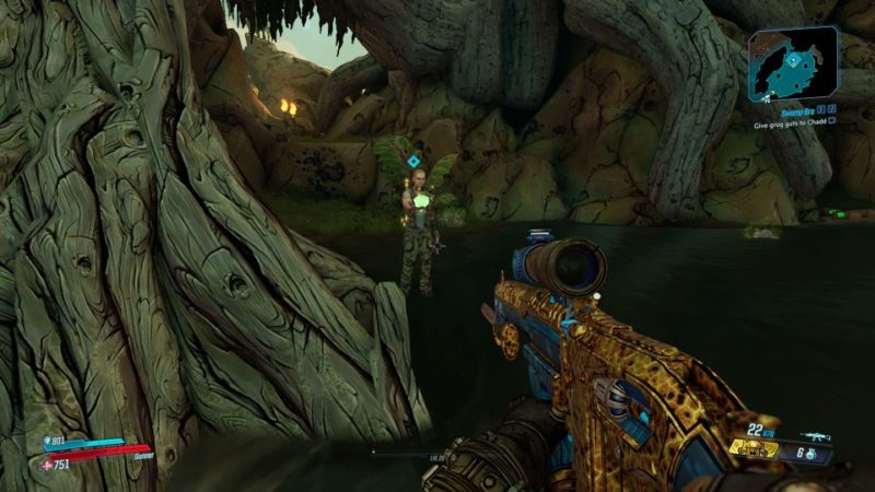borderlands 3 - swamp bro quest walkthrough