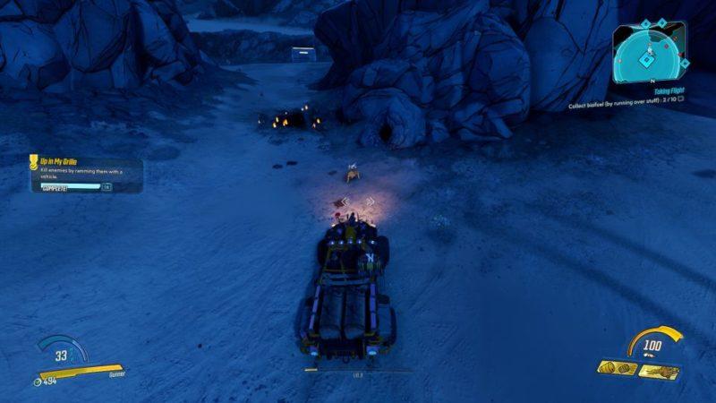 borderlands 3 - taking flight mission objective