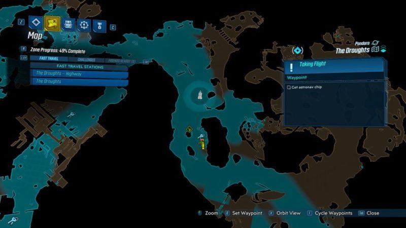 borderlands 3 - taking flight mission wiki