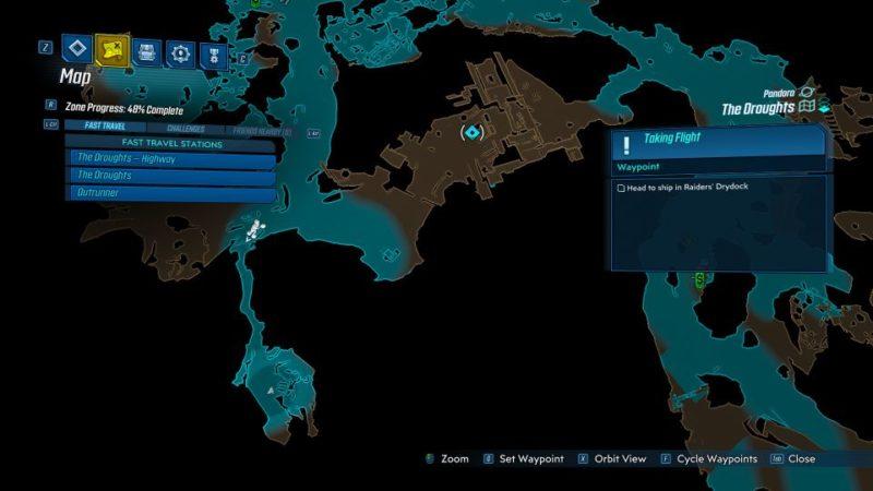 borderlands 3 - taking flight quest wiki
