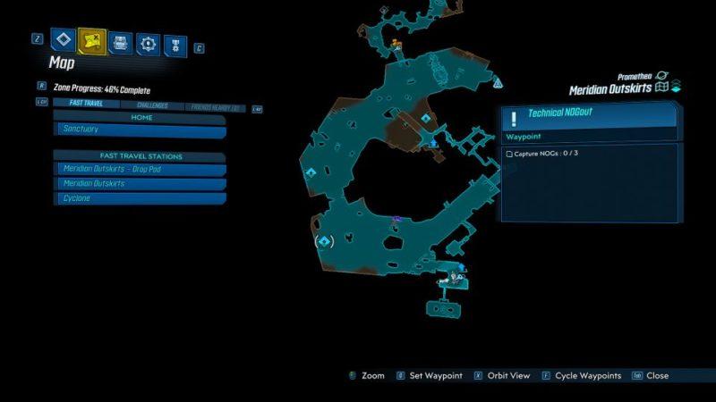 borderlands 3 - technical nogout mission guide