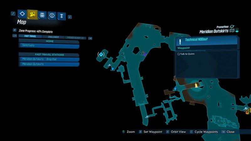 borderlands 3 - technical nogout mission tip
