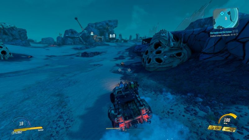 borderlands 3 - the feeble and the furious mission