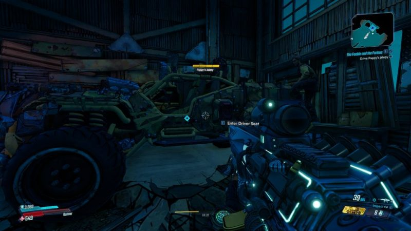 borderlands 3 - the feeble and the furious quest
