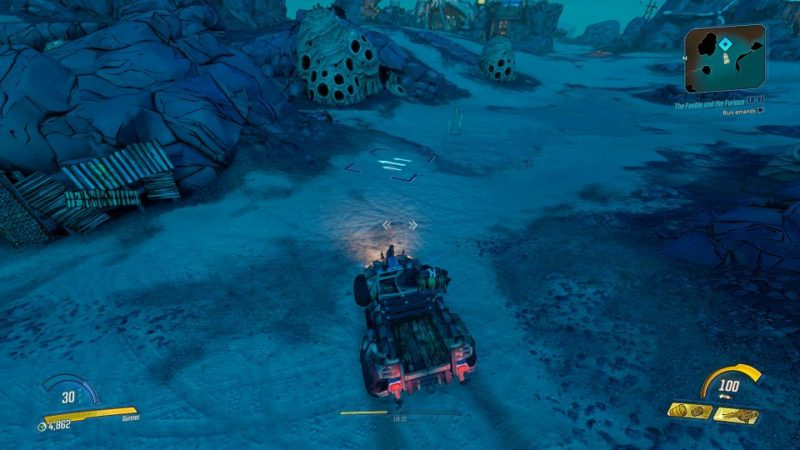 borderlands 3 - the feeble and the furious quest walkthrough