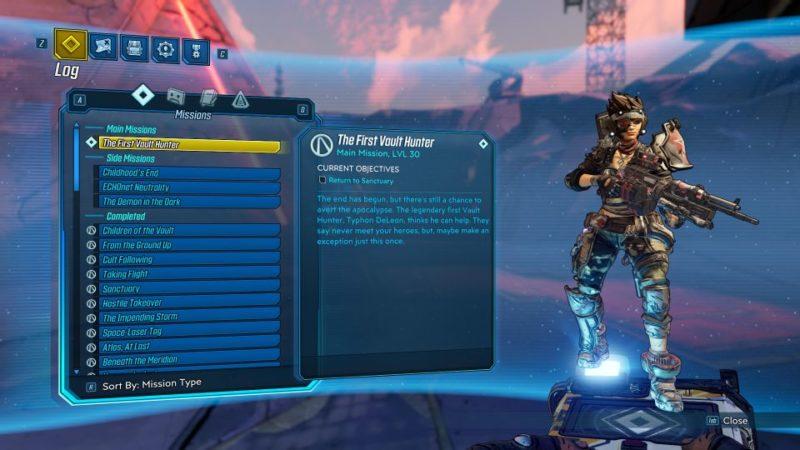 borderlands 3 - the first vault hunter