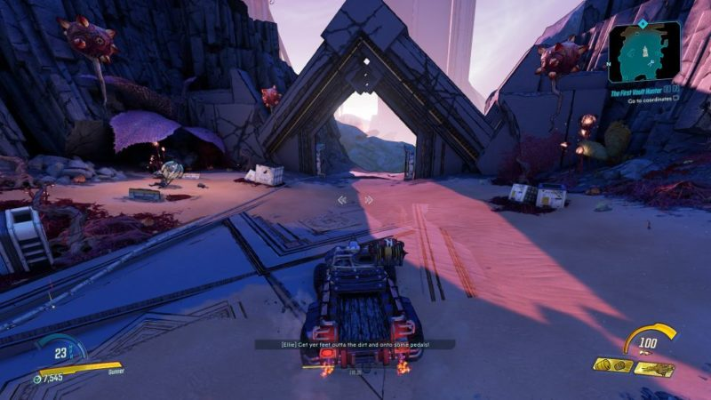 borderlands 3 - the first vault hunter mission wiki