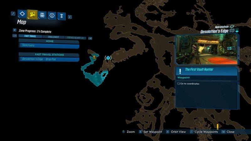 borderlands 3 - the first vault hunter missions