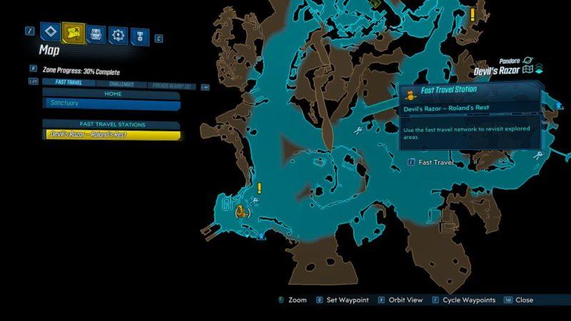 borderlands 3 - the great vault mission wiki