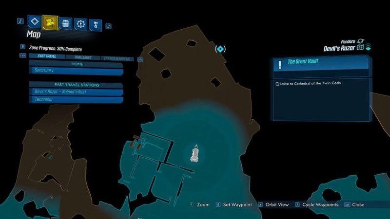 borderlands 3 - the great vault tips