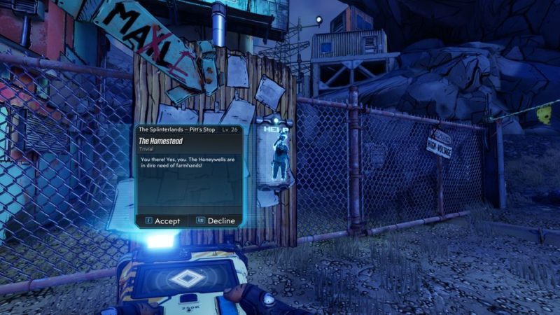 borderlands 3 the homestead part 1