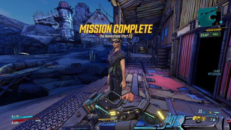 borderlands 3 - the homestead part 2 tips