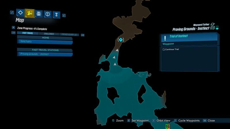 borderlands 3 - trial of instinct mission