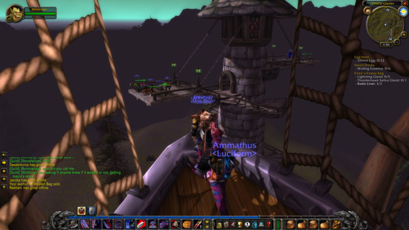 how to get to silverpine in wow classic