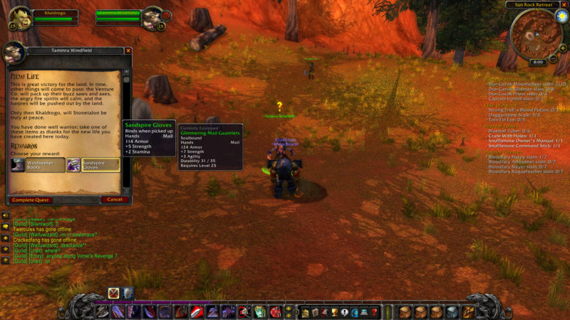 location to plant gaea seeds -wow classic