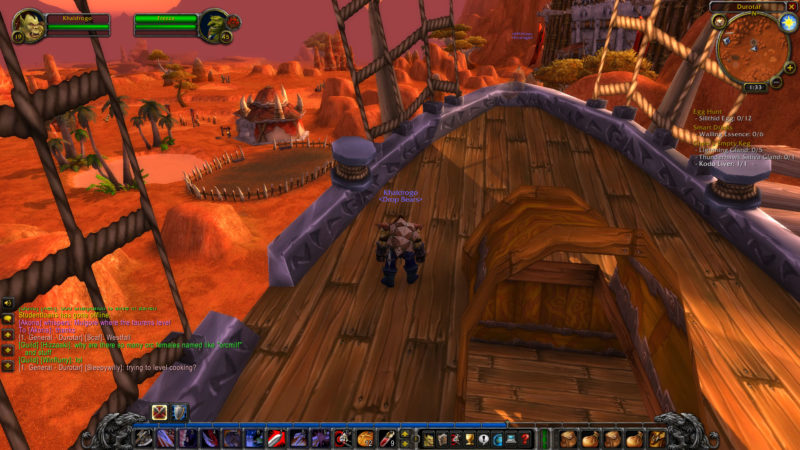 orgrimmar to silverpine - wow classic