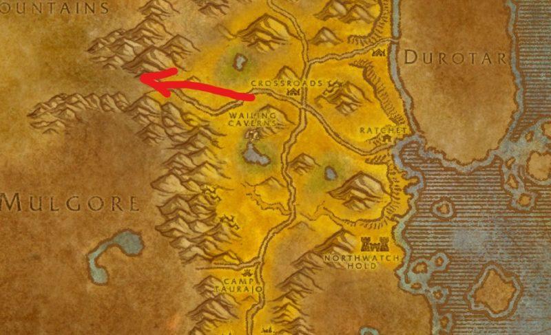 stonetalon mountain location - wow classic
