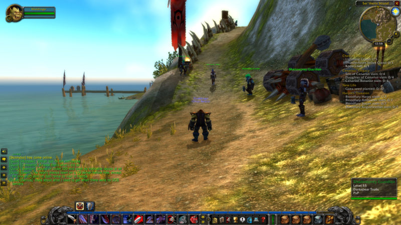 where is desolace - wow classic