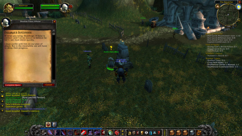 wow classic - border crossings quest guide
